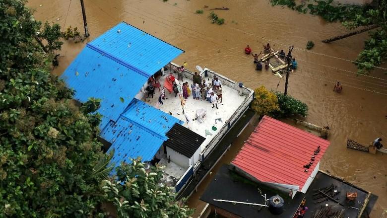 Dilanda Banjir, India Tolak Bantuan Rp 1,4 T dari Uni Emirat Arab