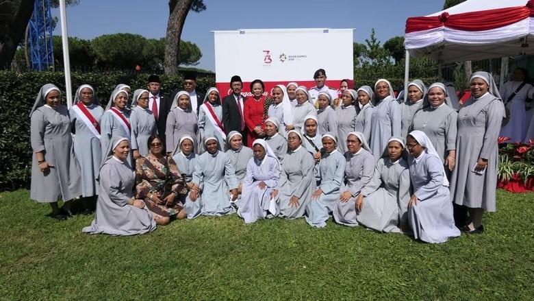 HUT ke-73 RI di Vatikan dan Austria Diselipi Doa untuk Lombok