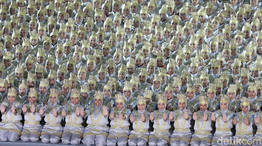 Tari Saman di Pembukaan Asian Games 2018 Bikin Merinding