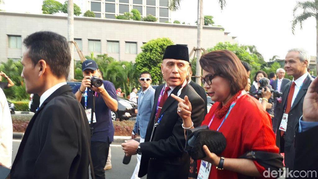 Pembukaan Asian Games: Menteri, Pimpinan KPK dan Elite Parpol ke GBK