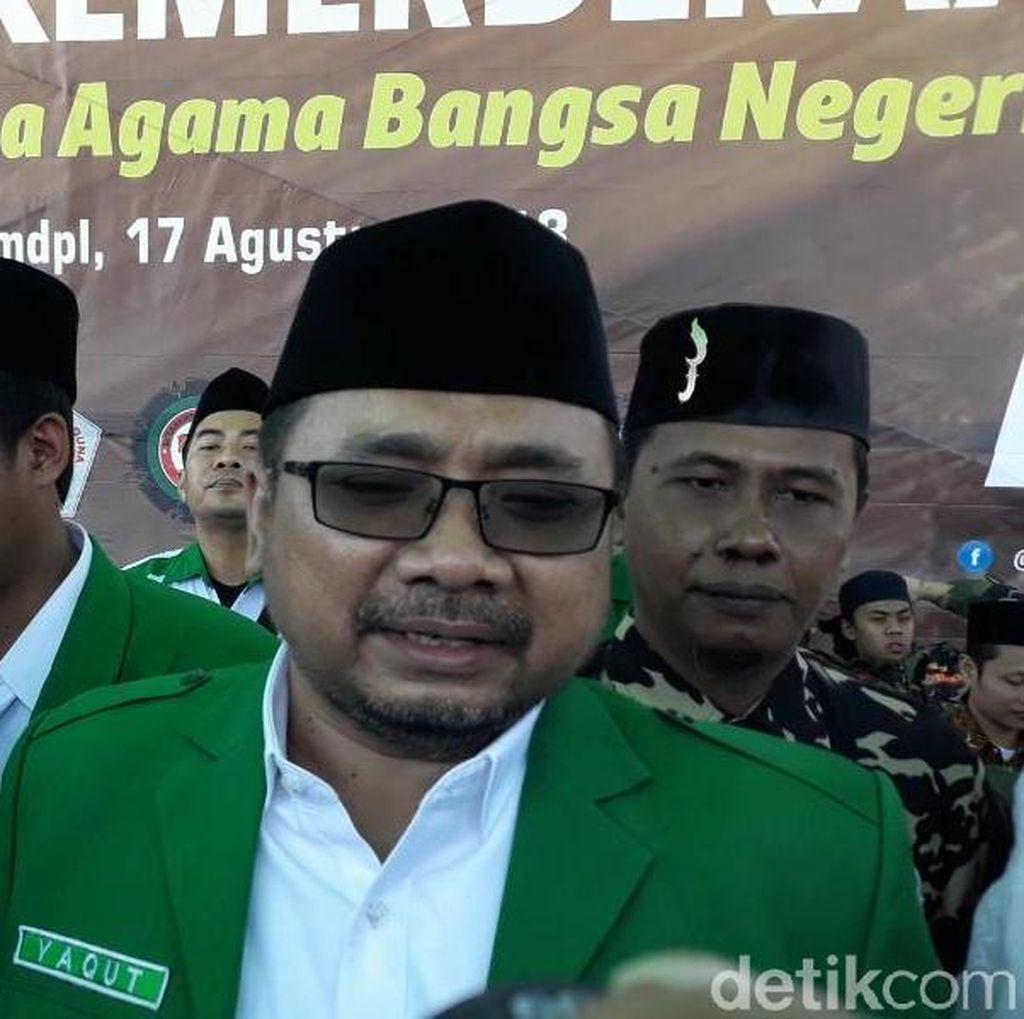GP Ansor Akui Bakar Bendera HTI Berkalimat Tauhid sebagai Kesalahan