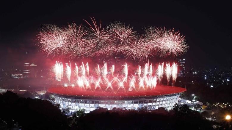 Spektakuler, Pembukaan Asian Games 2018 Menyihir Penonton