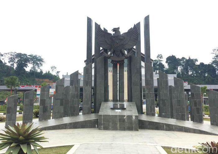Pos Lintas Batas Negara (PLBN) kini telah cantik, tak kalah gengsi dengan negeri sebrang Malaysia.