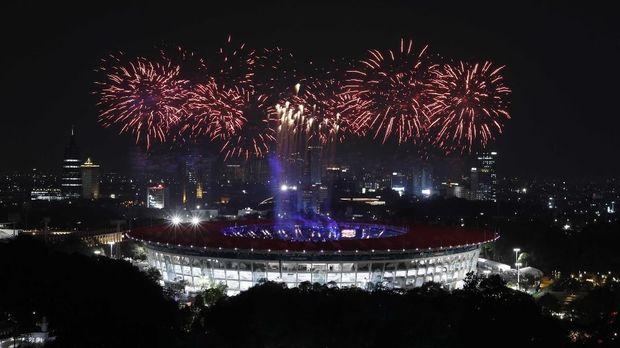 Upacara Pembukaan tanda dimulainya Asian Games 2018.