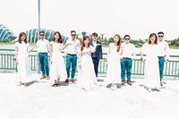 Hasil foto di pernikahan pasangan asal Singapura yang overexposure.