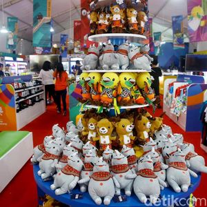 Serba-serbi Merchandise Asian Games 2018