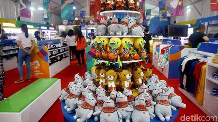 Serba-serbi Merchandise Asian Games 2018