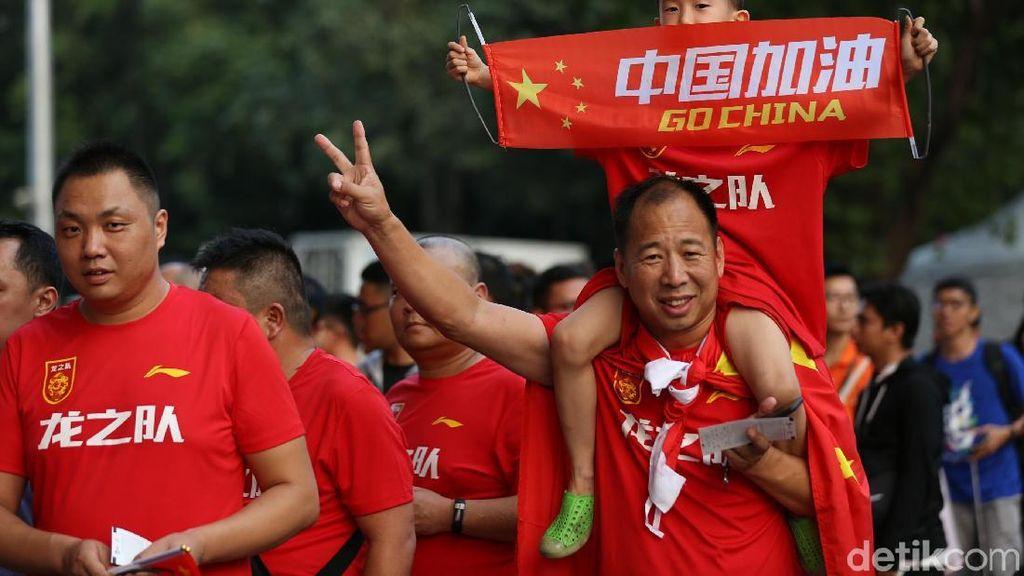 Kemeriahan Jelang Pembukaan Asian Games 2018 di GBK