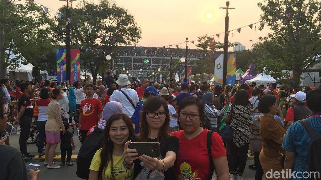 Penonton Acara Pembukaan Asian Games 2018 Ingin Jadi Saksi Sejarah