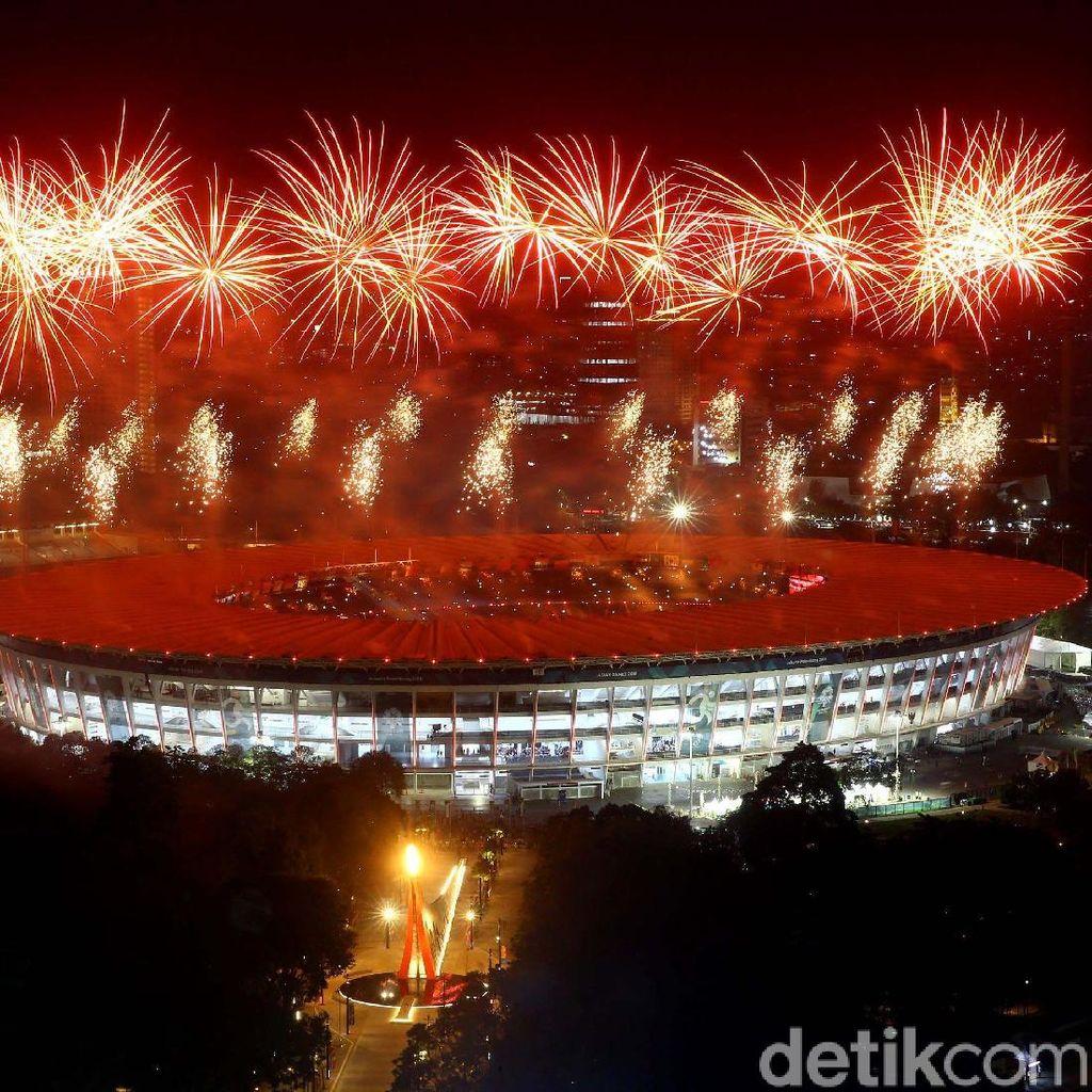 Spektakulernya Pembukaan Asian Games 2018 Ditayangkan Lagi Malam Ini