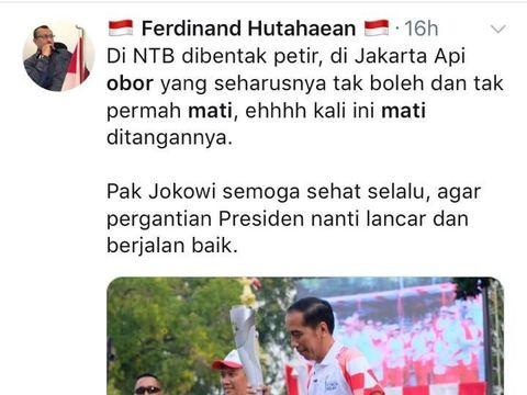 Negative Campaign Obor Jokowi Mati, Elite PD: Ini Tahun Politik!