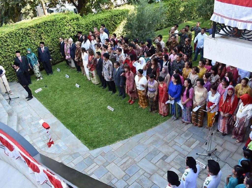 Masakan Nusantara Meriahkan HUT RI di Athena dan Toronto