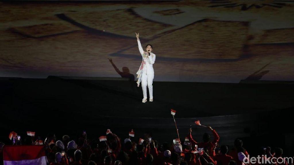 Syahdunya Lantunan Sederet Musisi di Opening Ceremony Asian Games