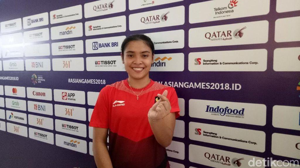 Gregoria Bawa Indonesia Ungguli Hong Kong 1-0