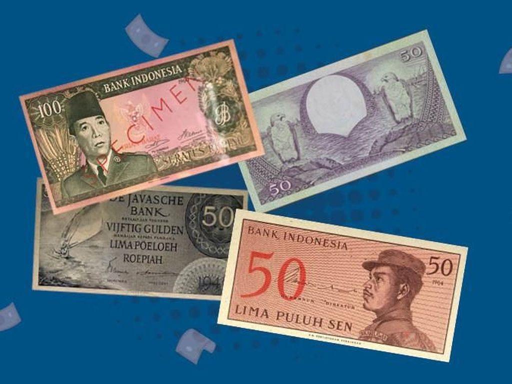Sejarah Uang RI yang Tak Banyak Orang Tahu