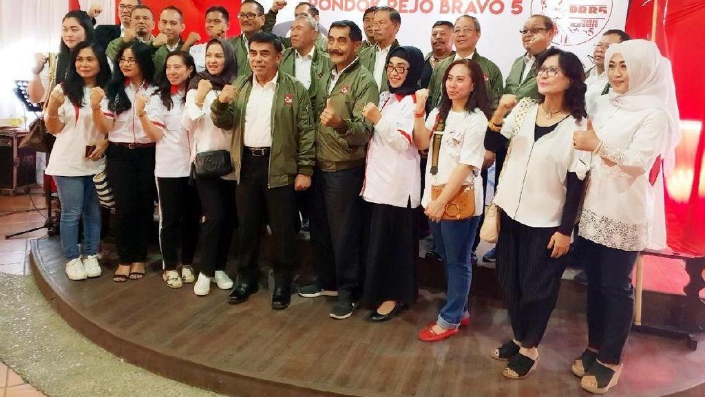 Purnawirawan TNI Deklarasi Dukung Jokowi 2 Periode