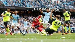 Dominan, City Ungguli Huddersfield 3-1 di Babak Pertama