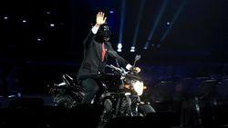 Jokowi Jawab Kontroversi Stuntman di Pembukaan Asian Games
