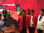 Jokowi Nonton Pertandingan Taekwondo Asian Games