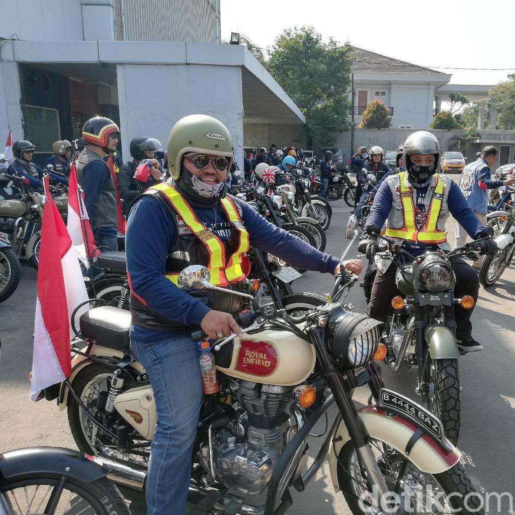 Dukung Asian Games, Pemotor Royal Enfield Touring Bareng