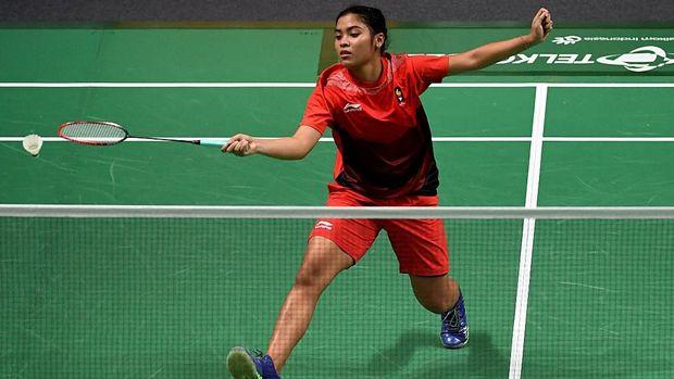 Gregoria Mariska menjadi satu-satunya wakil yang meraih poin untuk Indonesia vs Jepang.