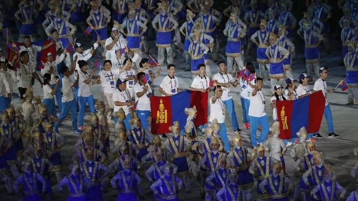 Ilustrasi atlet luar negeri di Asian Games. (REUTERS/Issei Kato)