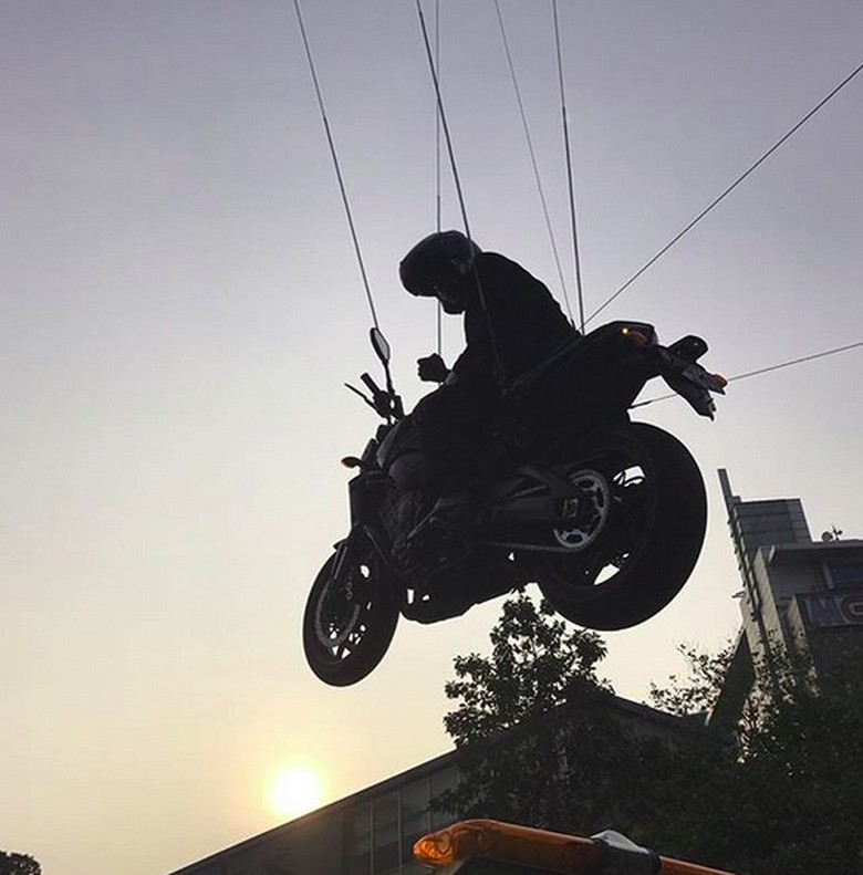 Suddom So stuntman JokowiFoto: Saddum So / instagram@saddumso