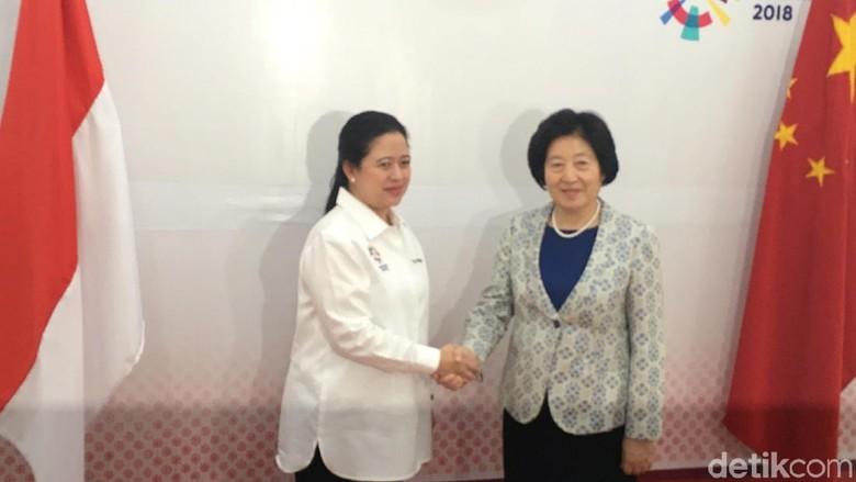 Bertemu dengan Utusan China, Puan Bahas Pertukaran Mahasiswa