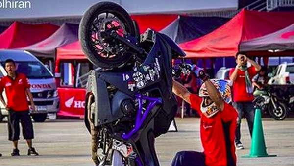 Ini Freestyler Thailand Stuntman Jokowi di Opening Asian Games 2018