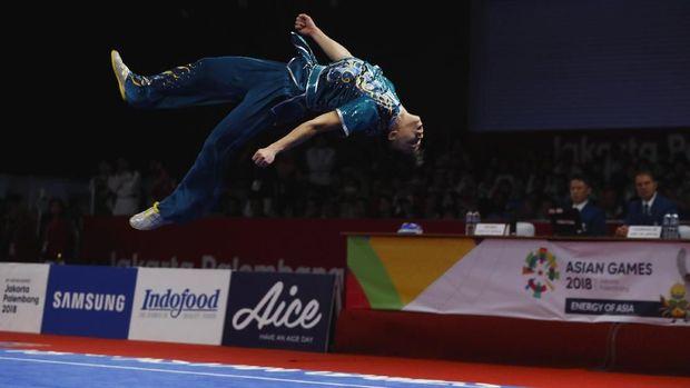 Edgar Xavier Marvelo menjadi atlet pertama Indonesia yang meraih medali di Asian Games 2018.