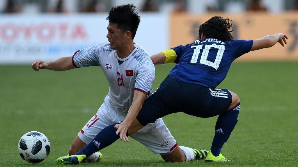 Hasil Sepakbola Asian Games 2018: Vietnam Tundukkan Jepang 1-0