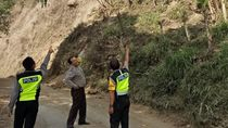 Tebing Gunung Abang di Bali Longsor Akibat Gempa, Tak Ada Korban