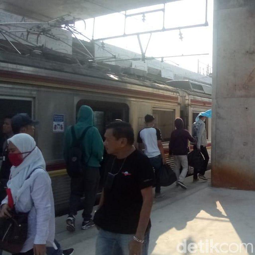 Kemenhub: Tiang Beton di Stasiun Manggarai untuk Proyek Elevated