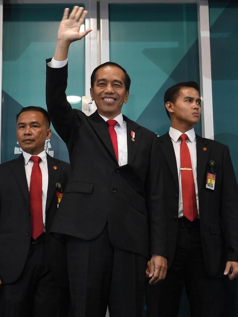 Kunjungi Lombok, Jokowi Tak Hadiri Penutupan Asian Games