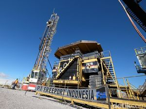 Freeport Jual Alat Tambangnya di Papua ke Benua Amerika