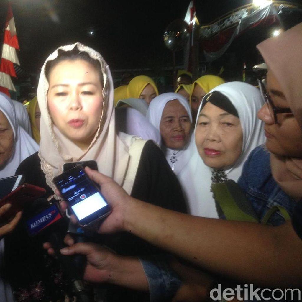 Yenny Wahid Hadiri Doa Bersama Warga NU untuk HUT RI ke-73