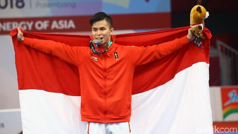 Edgar Xavier Marvelo Peraih Medali Pertama untuk Indonesia di Asian Games 2018