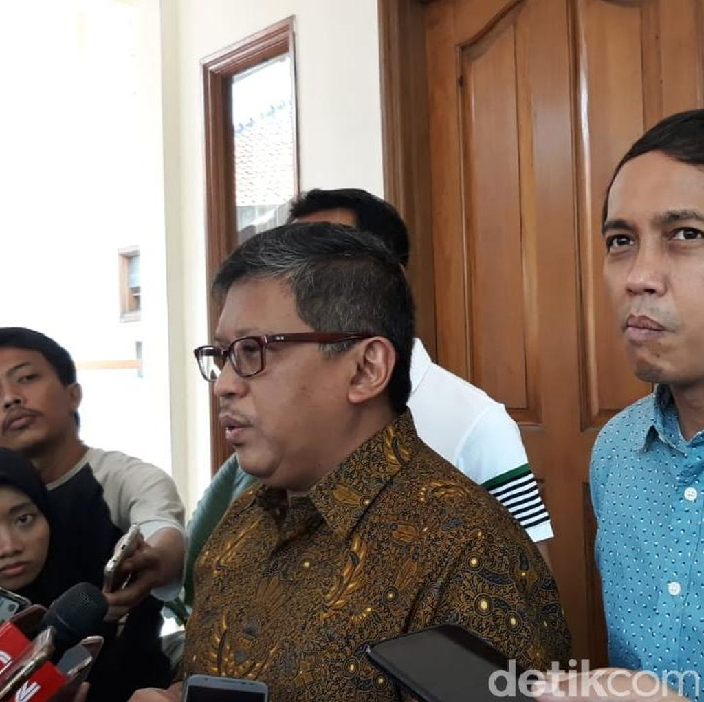 Sekjen Koalisi Jokowi Kumpul Bahas Finalisasi Tim Kampanye