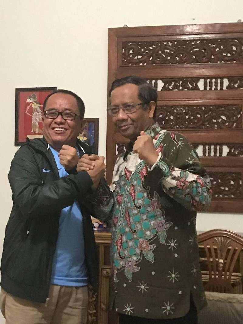 Bertemu Sudirman Said, Mahfud Md Mengaku Tak Bicara Politik