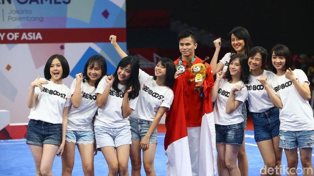 Dapat Medali Perak Asian Games, Marvelo: Ini untuk Masyarakat Indonesia