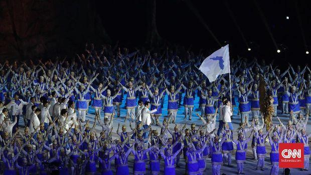 Kontingen Korea Bersatu menempati peringkat ke-28 klasemen medali Asian Games 2018.