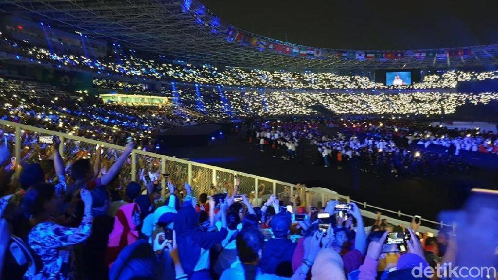 Kemeriahan Asian Games 2018 Lewat Bidikan Galaxy Note 9