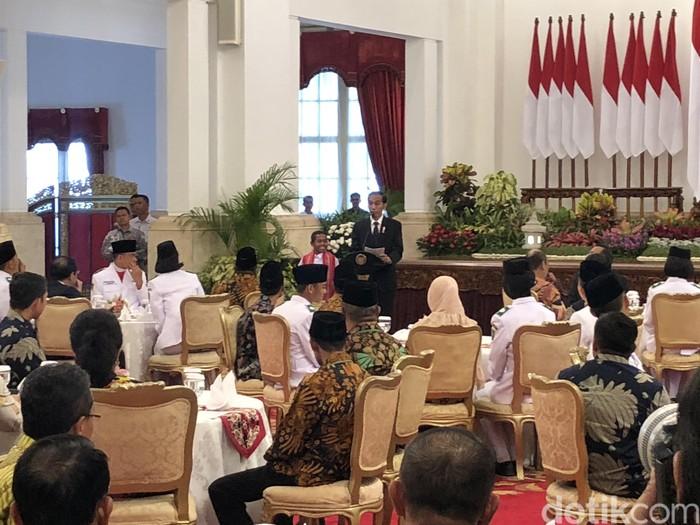 Joni bertemu Presiden Jokowi. Foto: Ray Jordan/detikcom