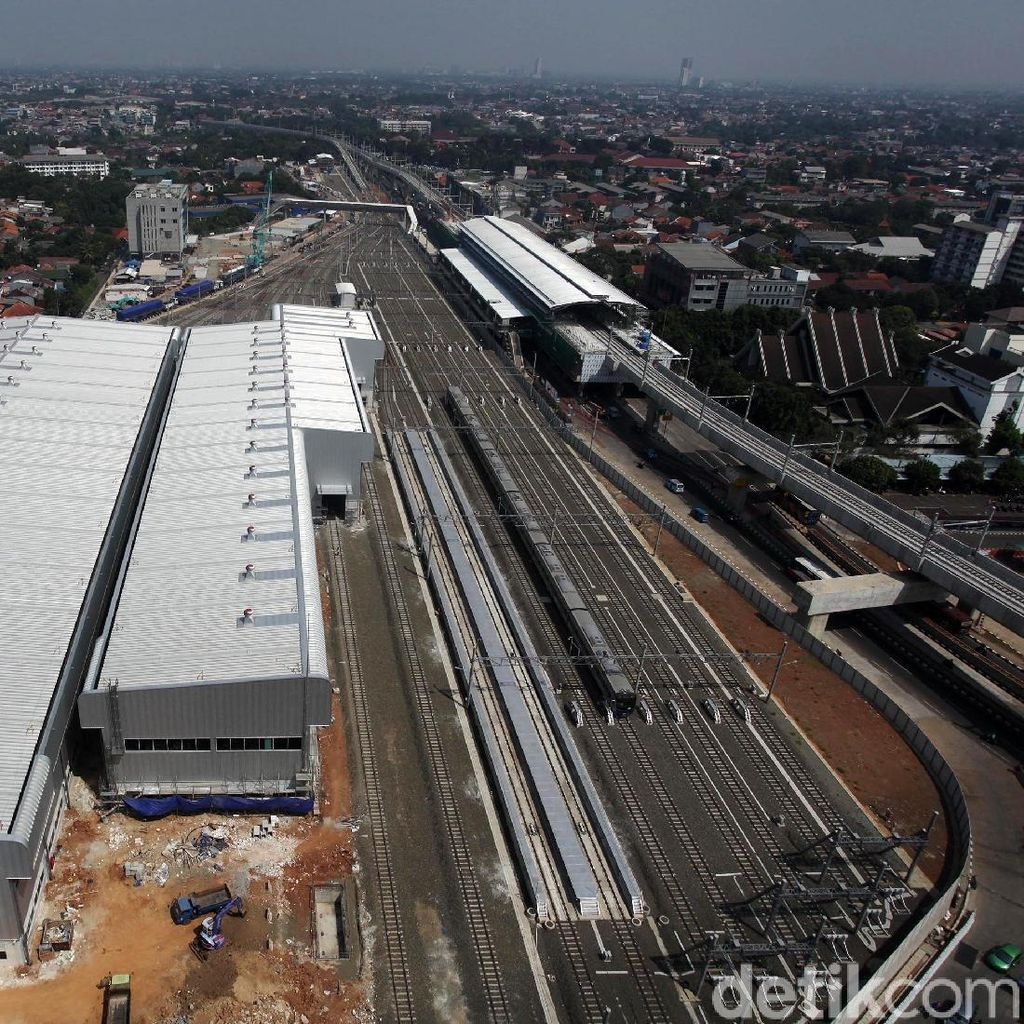 Mengintip Progres Pembangunan Depo MRT Jakarta