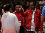 Saat Jokowi Saksikan Lindswell Kwok Raih Emas di Asian Games