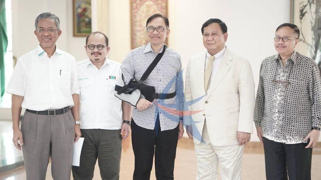 Prabowo Temui Anwar Ibrahim di Malaysia, Apa yang Dibahas?
