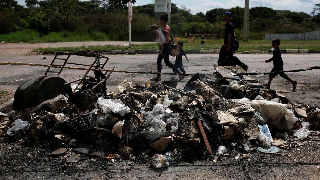 Brasil Kerahkan Tentara Usai Bentrokan di Perbatasan Venezuela