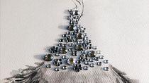 Keren! Pria Ini Ciptakan Sketsa Gaun Indah dari Tetesan Air