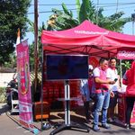 Si Pink Bright Gas Ikut Ramaikan Peringatan HUT RI ke-73
