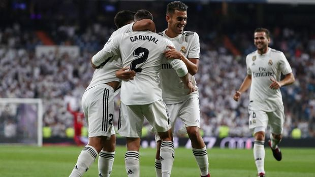 Real Madrid menang 2-0 atas Getafe di laga perdana Liga Spanyol musim ini.